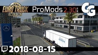 ETS2 - ProMods 2.30 Preview - Cyprus, Greece, Macedonia, Serbia - VOD - 2018-08-15