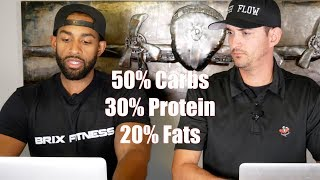 HOW TO SET CALORIES AND MACROS DEMO W/ COACHING CLIENT
