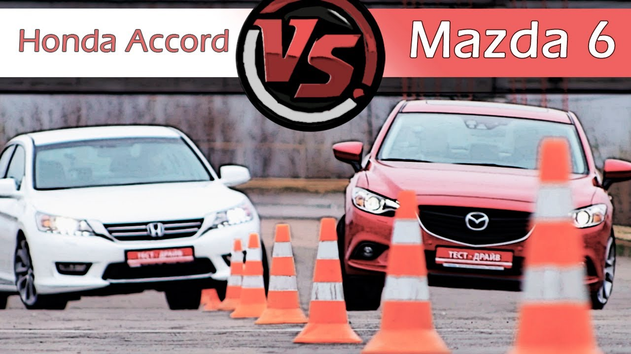 mazda 6 vs honda accord youtube. Black Bedroom Furniture Sets. Home Design Ideas