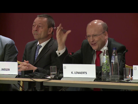 Court of Justice of the EU Annual Report Press Conference 2017 - Q&A