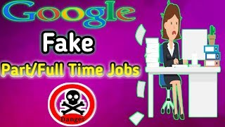 Online Jobs At Home Fake Jobs 2019 In Telugu | Work From Home Online Jobs Frauds | Fake Google Jobs