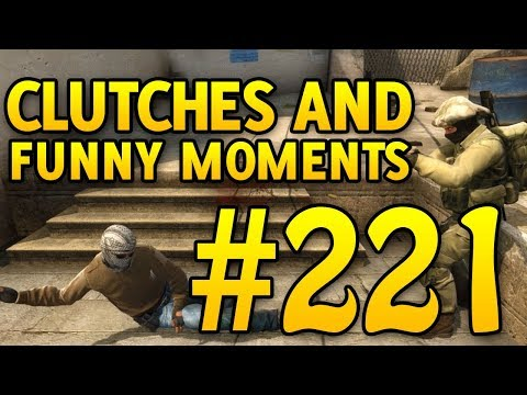 CSGO Funny Moments and Clutches #221 - CAFM CS GO