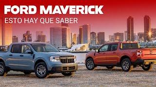 Ford Maverick:  recreativa, útil, tecnológica y hasta más de 15 km/l gracias a la hibridación