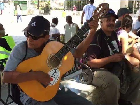 Amazing Singing Street Artist in  Havana - Cuba | Chan Chan - Buena Vista Social Club