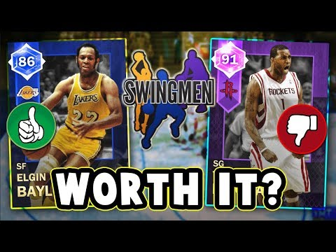 NBA 2K18 WHICH SWINGMEN CARDS ARE WORTH BUYING!!  NBA 2K18 MyTEAM
