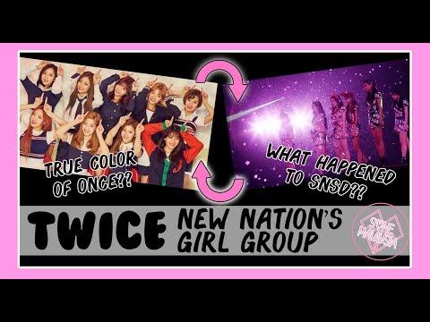 TWICE is the NEW NATION'S GIRL GROUP.What about SNSD? (My Confession about ONCE behavior)