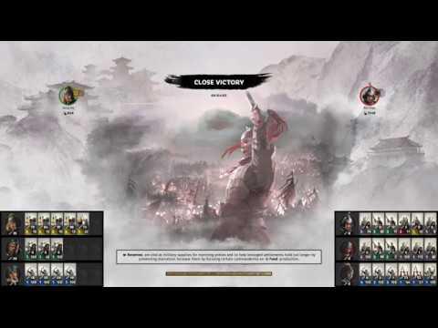 Total War Three Kingdom playing pvp Rank Match |