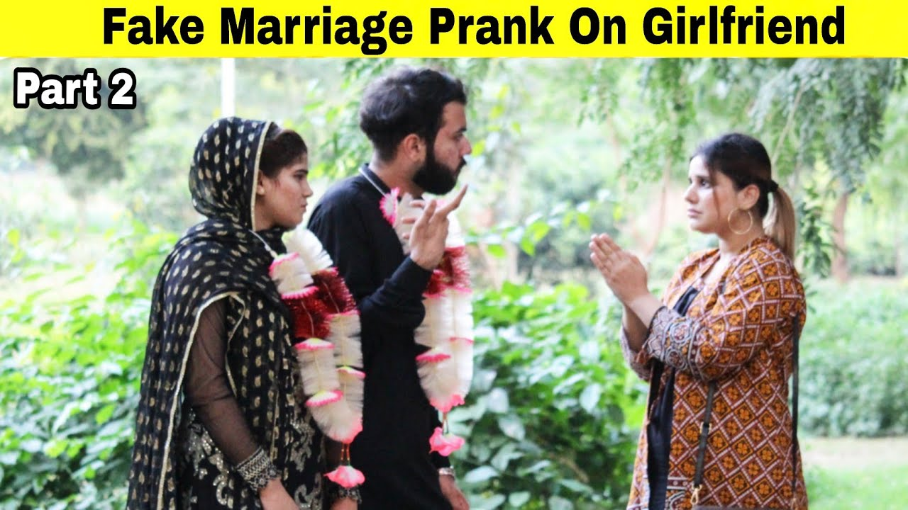 Fake Marriage Prank On My Girlfriend (Part2)   Prank in Pakistan   @Hit Pranksters