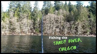 Fishing the Sandy River Lost 2 Big Ones Fishing for Spring Chinook and Steelhead