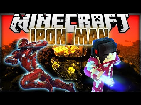 Minecraft: Mod Showcase - Iron Man [BECOME AND CREATE YOUR IRON MAN]