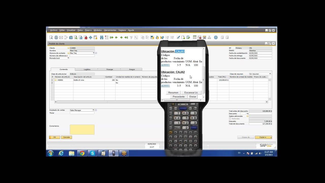 Demo LISA WMS Para SAP Business One En Espaol YouTube