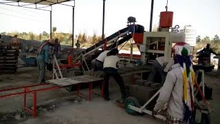 Automatic Fly Ash Bricks Making Machine / ENDEAVOUR-iF2000