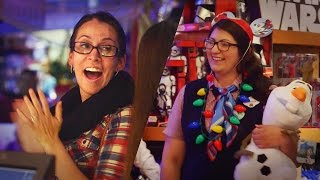 Disney Store Surprises Holiday Shoppers | Share the Magic | Disney Store