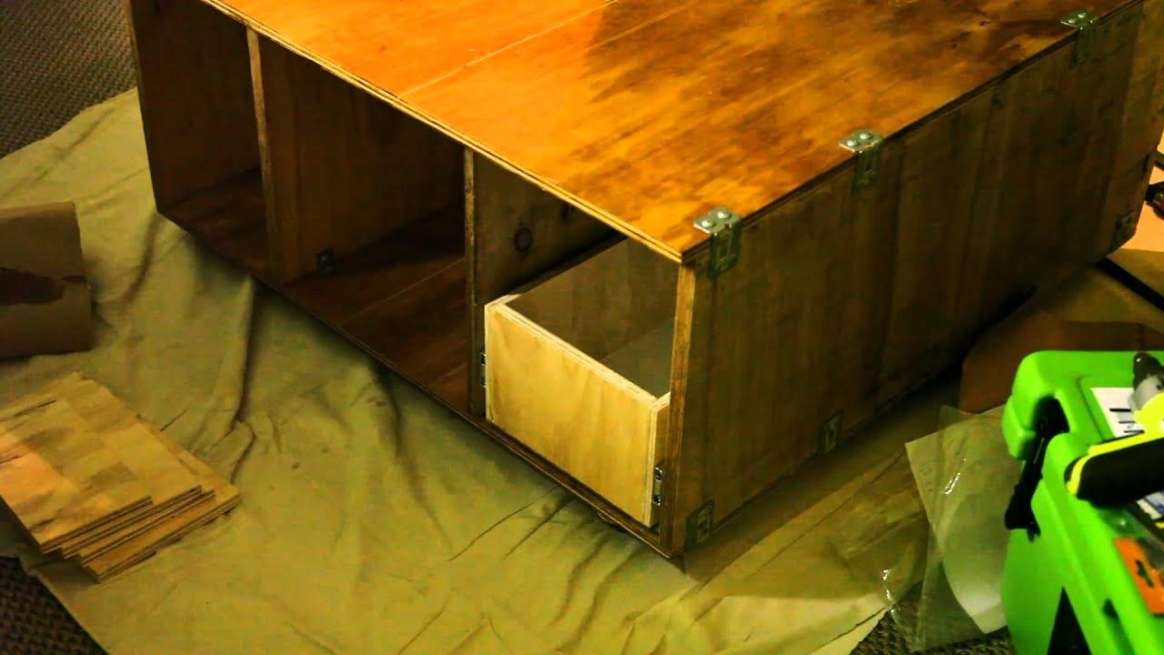 Rear Cargo Storage Unit For Pajero / Prado   Part 1