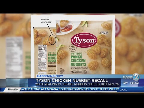 Stichiz - Another Food Recall You Should Know: Chicken Nuggets