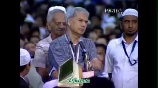 نصراني يسأل ويدخل الاسلام - الدكتور ذاكر نايك 2013 | الاسلام في دبي Islam In Dubai