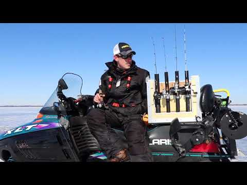 "How to ""Run and Gun"" - Ice Fishing"