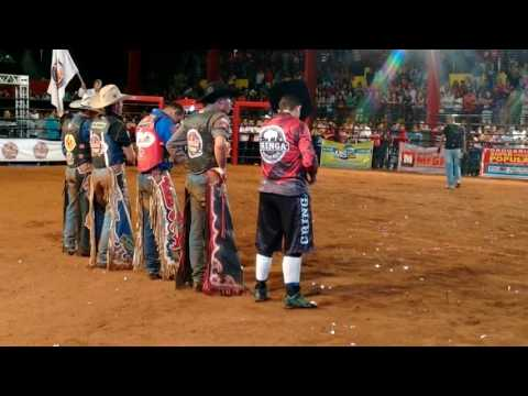 Abertura da final rodeio show Costa Rica ms 2016