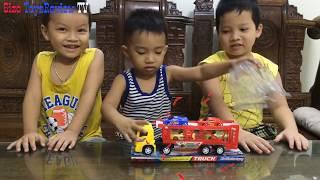 Sizo - Car Toy Loading Children Toys   Sizo ToysReview TV