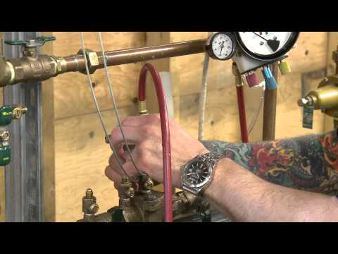 Camosun Pipe Trades - Double Check Valve Assembly Test