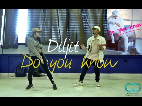Diljit Dosanjh Do you Know | Gaurav N Chandni Choreography #laembadgini