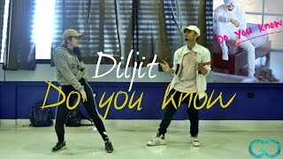 Diljit Dosanjh Do you Know | Gaurav N Chandni Choreography #laembadgini