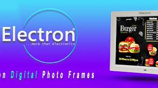 XELECTRON amp BIS CERTIFIED DIGITAL PHOTO FRAME WITH FULL IPS HD 1080P RESOLUTION