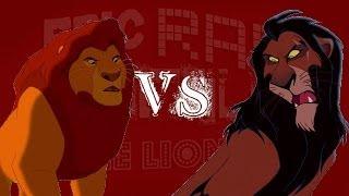 Scar vs Mufasa - Epic Rap Battles of the Lion King #4