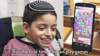#GivingTuesday - Ori gets a Sesame Phone