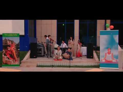 Indonesia band sung Bahubali 2 song.