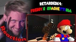 Retarded64: Freddy's spaghettiria REACTION! | ZALZAR.EXE'S STOPPED WORKING... |