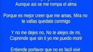 Zacarias Ferreira (Quedate conmigo -Letra)