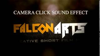 CAMERA CLICK SOUND EFFECT
