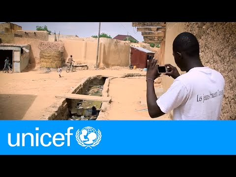 Youth map the climate change they want to see | UNICEF