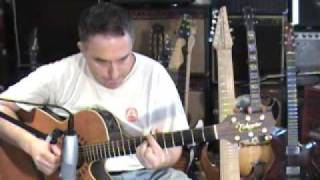 Central Park West, John Coltrane, acoustic solo fingerstyle guitar, Jake Reichbart