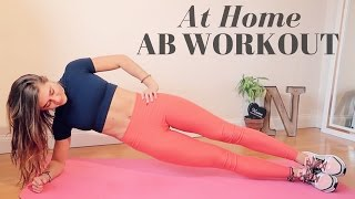 AT HOME INTENSE 10 MIN AB WORKOUT || NO EQUIPMENT, ALL ABILITIES