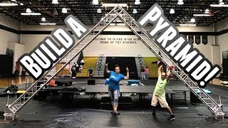 Let's build a truss pyramid!  | DJ Tips | Truss Tips