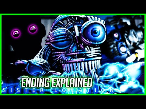 FNAF Sister Location REAL ENDING EXPLAINED - ENNARD'S TRUTH -Five Nights at Freddy's Sister Location