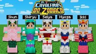 Minecraft: CAVALEIROS DO ZODÍACO NO MINECRAFT! (Como ter as armaduras dos Cavaleiros)
