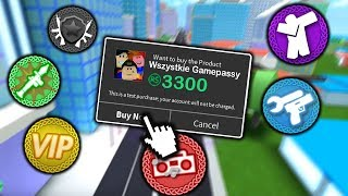 I BOUGHT ALL GAMEPASSY in MAD CITY l Roblox
