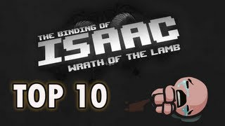 Top 10 WORST Items in The Binding of Isaac!