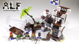 Lego Pirates 70412 Soldiers Fort / Soldaten Fort - Lego Speed Build Review