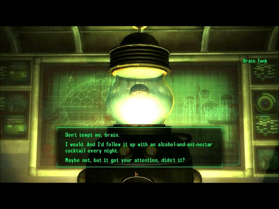 Fallout flirting with your brain [PUNIQRANDLINE-(au-dating-names.txt) 46