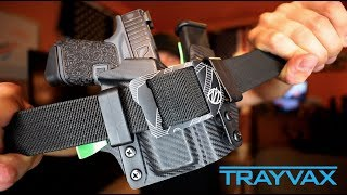 T.S. Edition - Trayvax EDC Belt! | Guess what I am carrying?