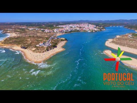 Vila Nova de Milfontes aerial view streaming vf