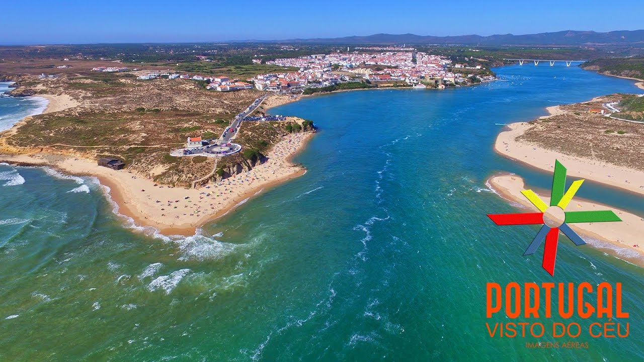 Vila Nova De Milfontes Aerial View