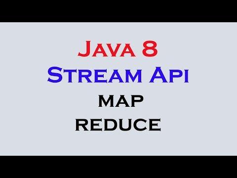 17.12 Java 8 Stream Api Features Part 10 Stream Map Reduce Methods