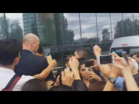 Jackie Chan in Kazakhstan