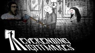 Neverending Nightmares Прохождение ► Черно-белая ИСТЕРИКА! ► ИНДИ-ХОРРОР