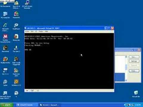 how to get internet to work in virtual pc 2007